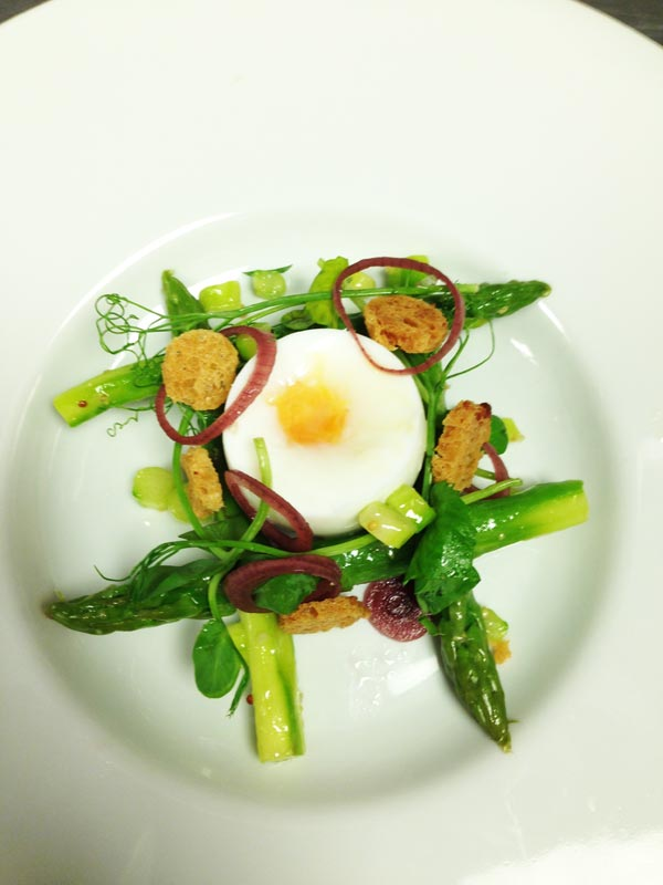 Asparagus and Egg Salad